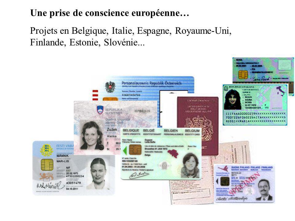 Contenu du projet INES: un projet global Refonte des procédures Refonte des applications CNIE Equipement et formation des agents Passeport à puce Nouveaux titres: