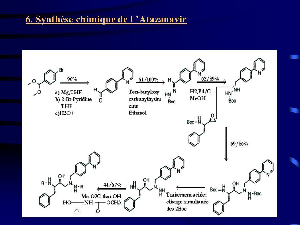 26 6. Synthèse chimique de l Atazanavir