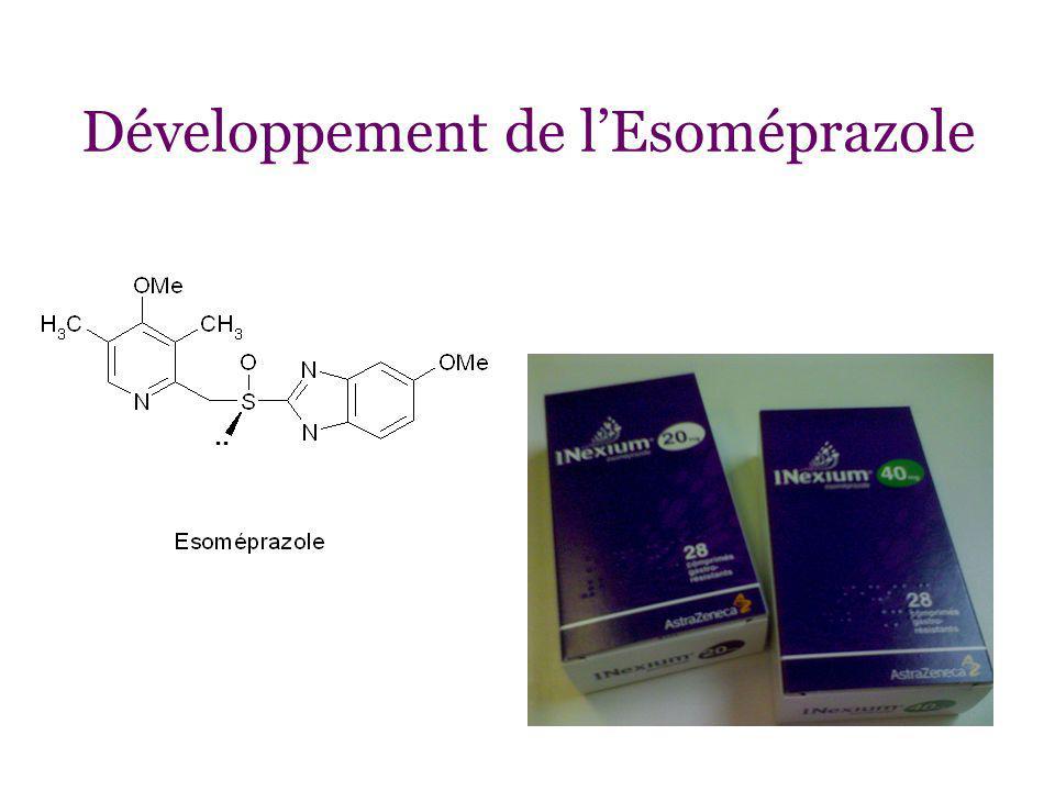 Développement de lEsoméprazole..
