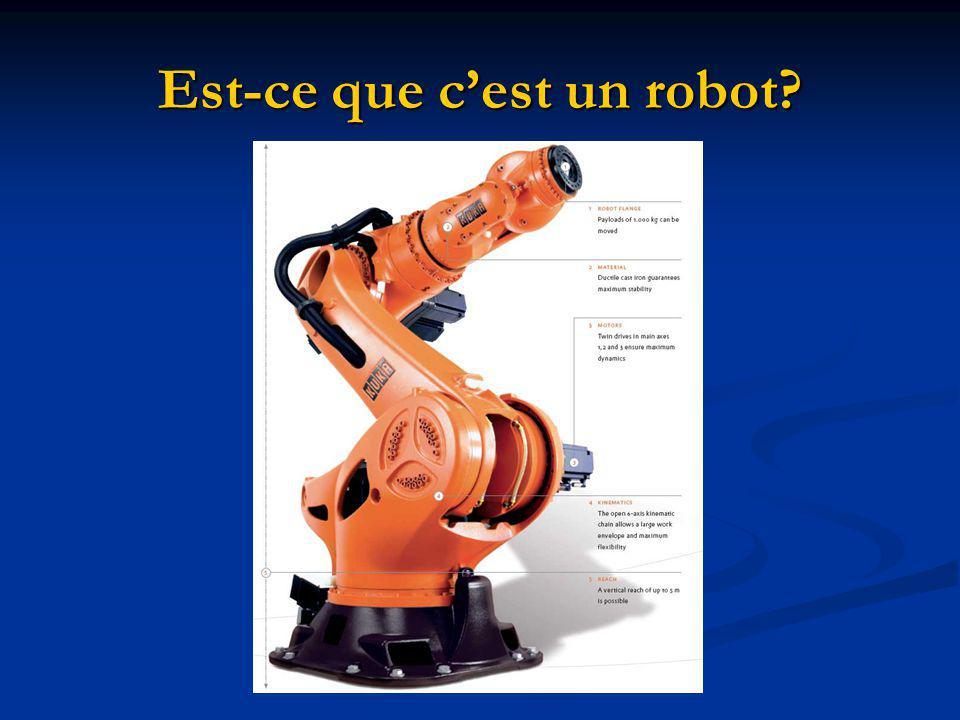Est-ce que cest un robot?