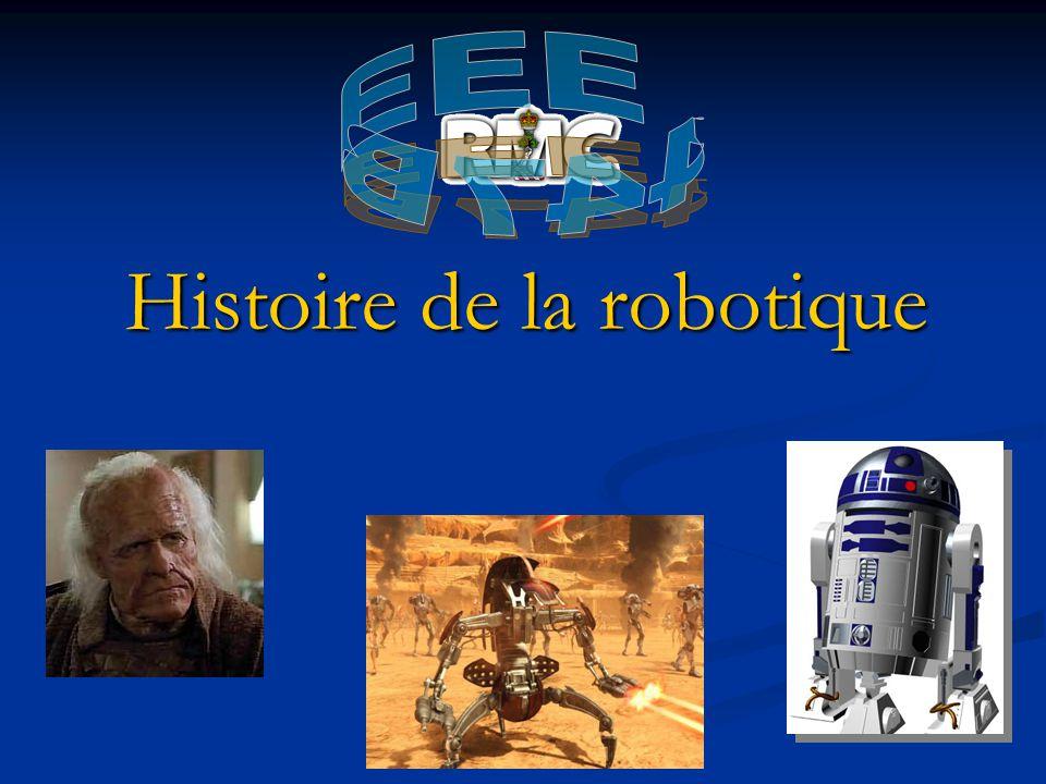 Future des robots (Aujourdhui) Robonaut - NASA ASIMO - HONDA http://www.popsci.com/