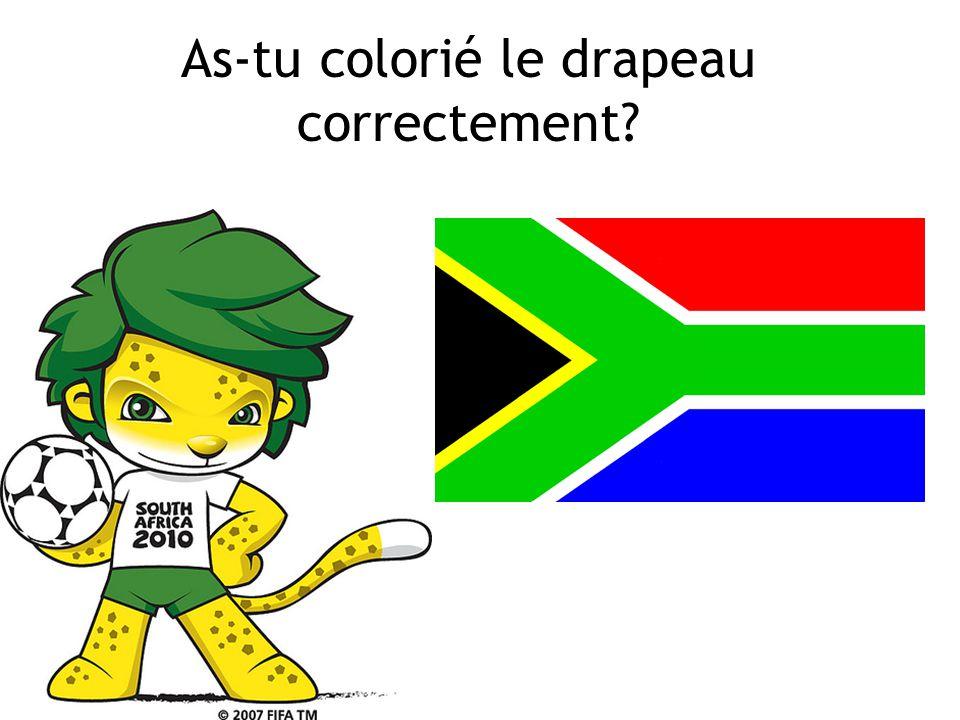 Voici, mon drapeau! Cest de quelle couleur? rouge, vert, jaune, blanc, bleu, noir Starter