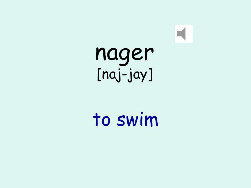 piscine [pee-seen] swimming pool