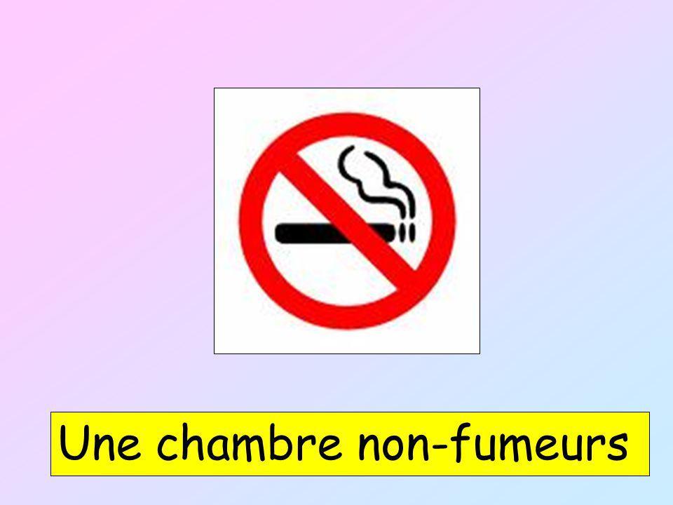 Une chambre non-fumeurs