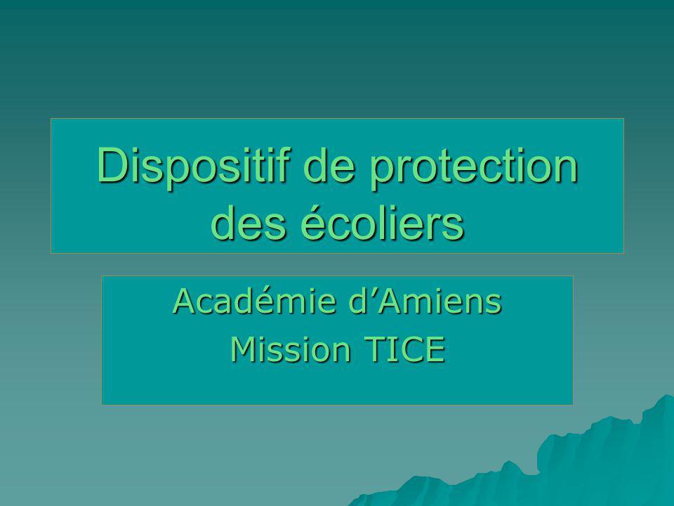 Conservation des traces Lensemble des usages fait lobjet dun enregistrement et dun archivage (maxi 1 an) Dispositif académique : Principe INTERNET Fournisseur daccès Internet F.A.I.