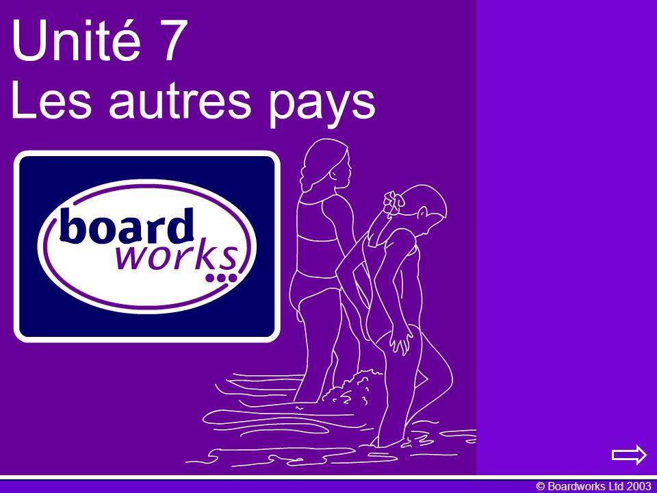 © Boardworks Ltd 2003 Jhabite en Europe Leuro: les pièces un centime deux centimes cinq centimes dix centimes vingt centimes cinquante centimes un euro deux euros