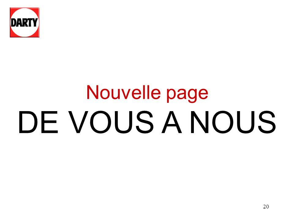 20 Nouvelle page DE VOUS A NOUS