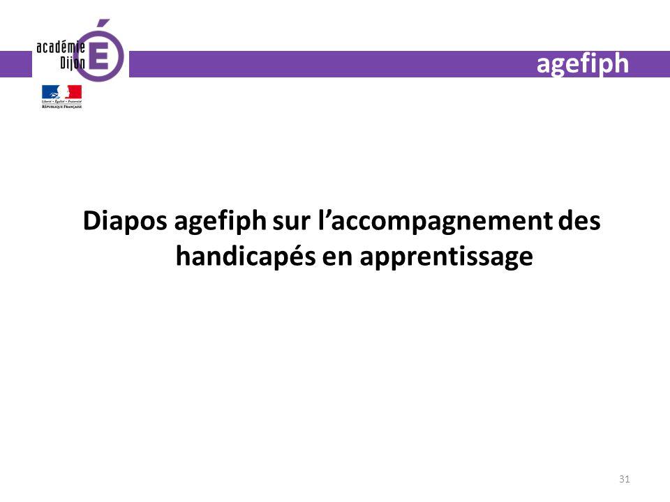 agefiph Diapos agefiph sur laccompagnement des handicapés en apprentissage 31