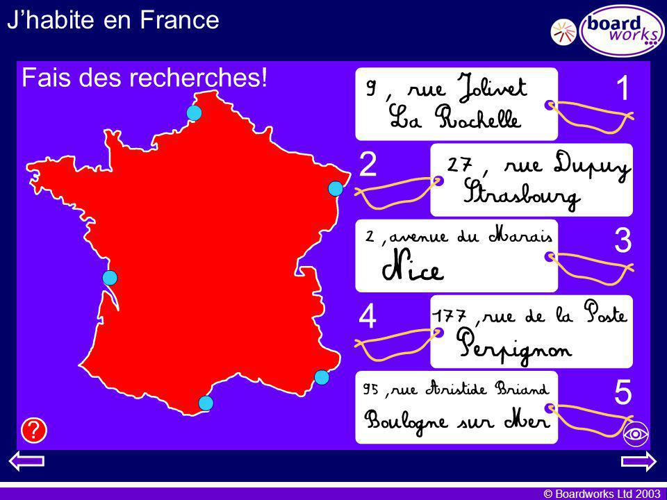 © Boardworks Ltd 2003 Dictionary skills This knowledge will help you when you have to choose from more than one French word.