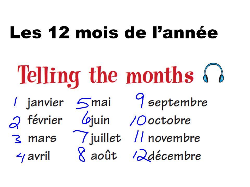 Les 12 mois de lannée