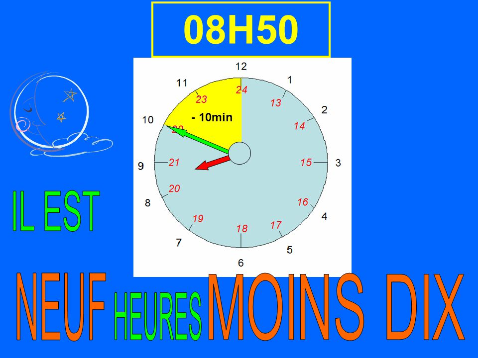 08H50 - 10min