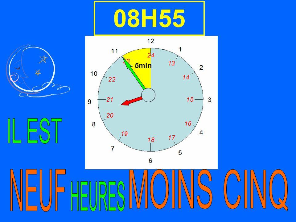 08H55 - 5min