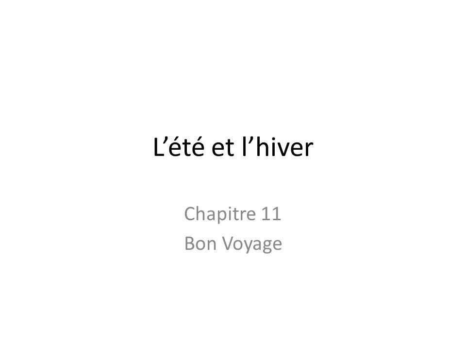 Lété et lhiver Chapitre 11 Bon Voyage