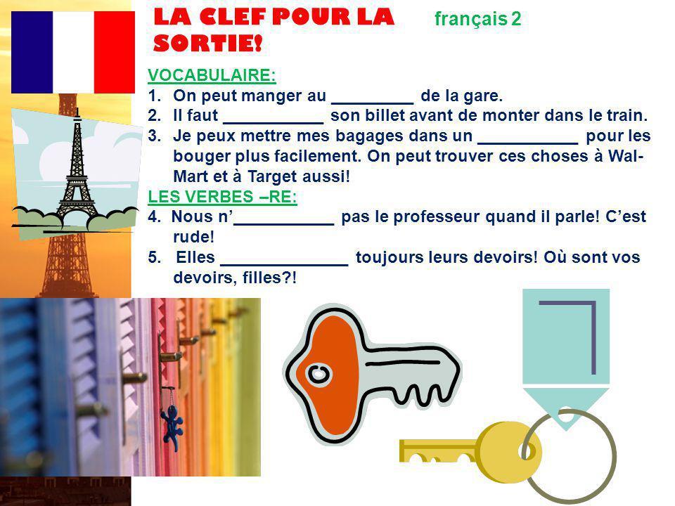 français 2 le 27-28 octobre 2011 ActivitéClasseur I.