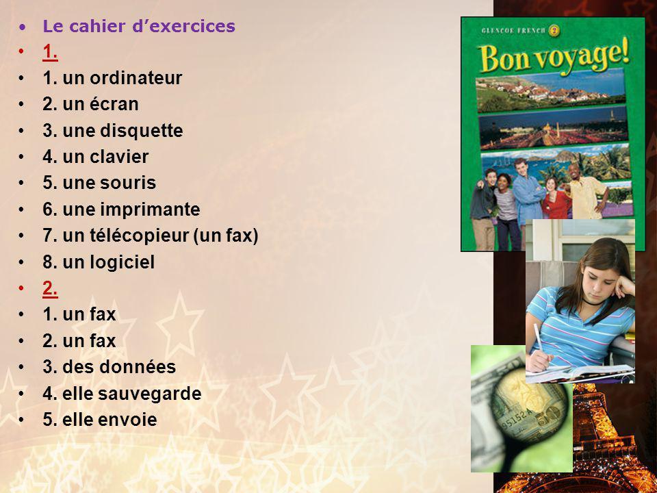 Les verbes en –re Exercice français 2 Choisissez un verbe approprié pour chaque phrase, conjuguez-le bien, et levez la main quand vous avez fini.