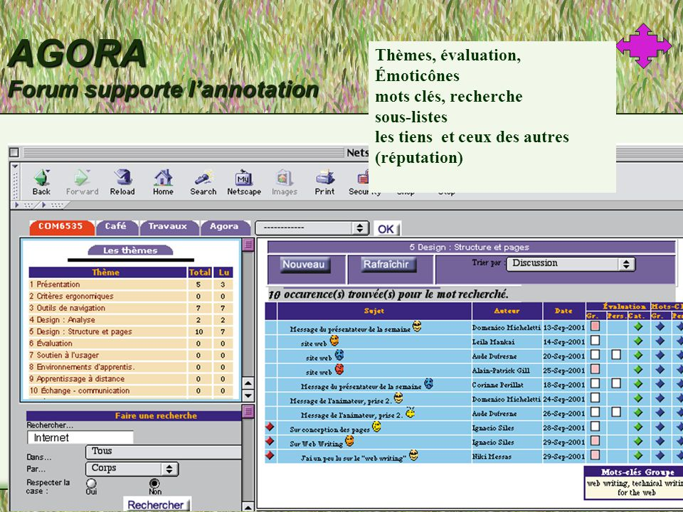 AGORA Forum supporte lannotation