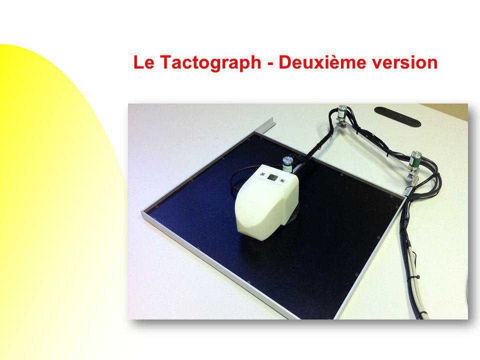 Le Tactograph - Deuxième version