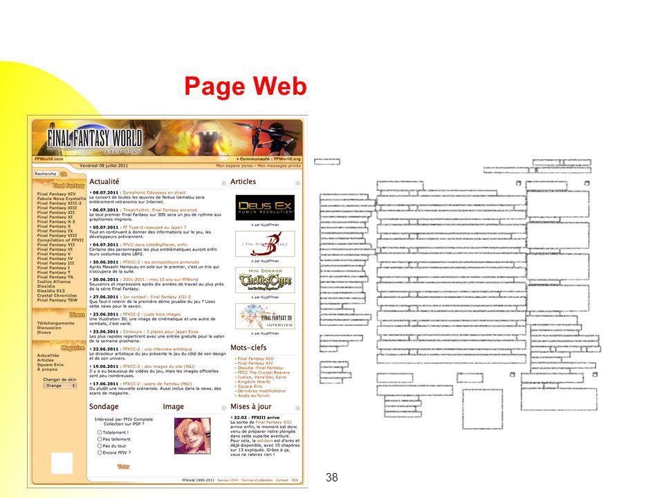 38 Page Web