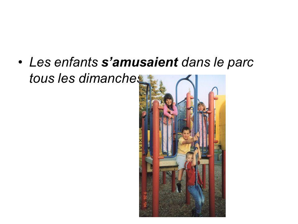 Limparfait est utilisé pour décrire les circonstances dun évènement Il pleuvait.