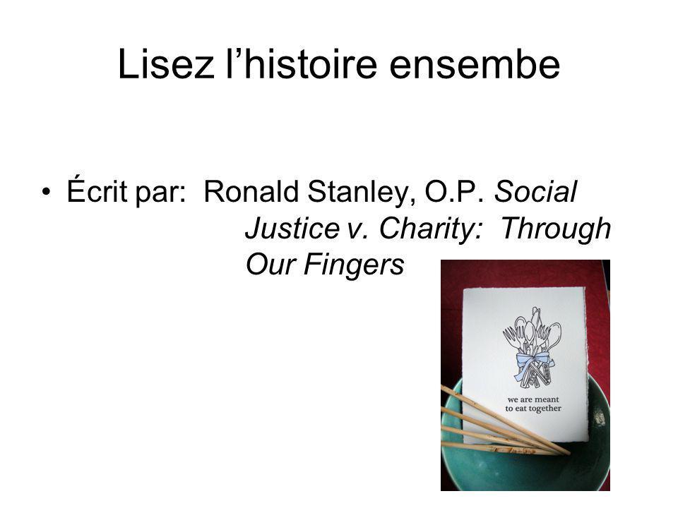 Lisez lhistoire ensembe Écrit par: Ronald Stanley, O.P.