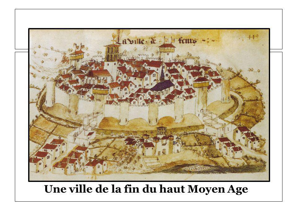 Une ville de la fin du haut Moyen Age