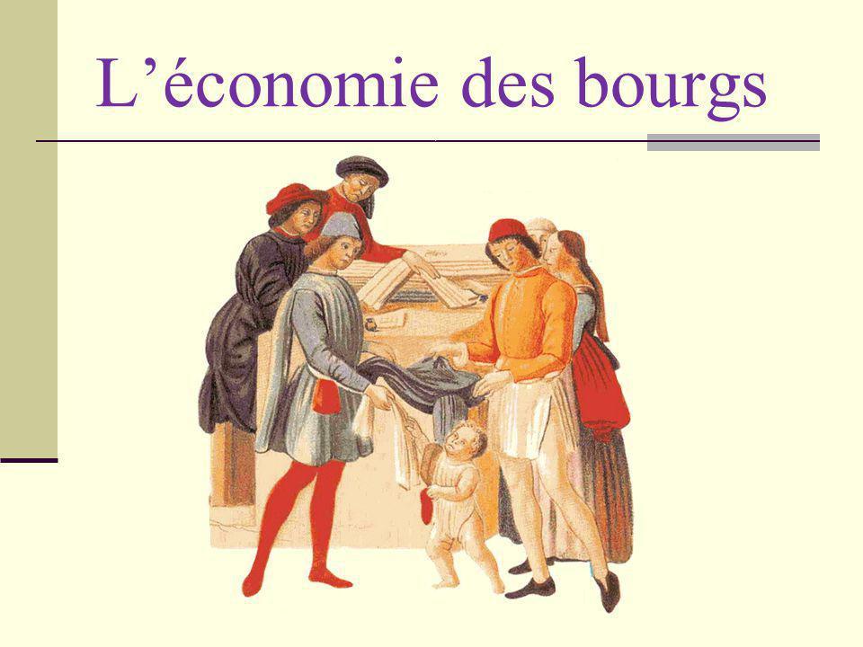 Léconomie des bourgs