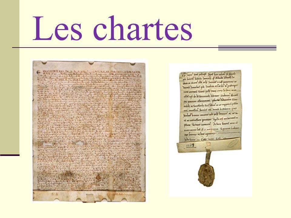 Les chartes