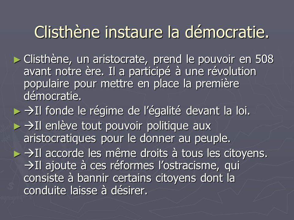Photos de Clisthène.