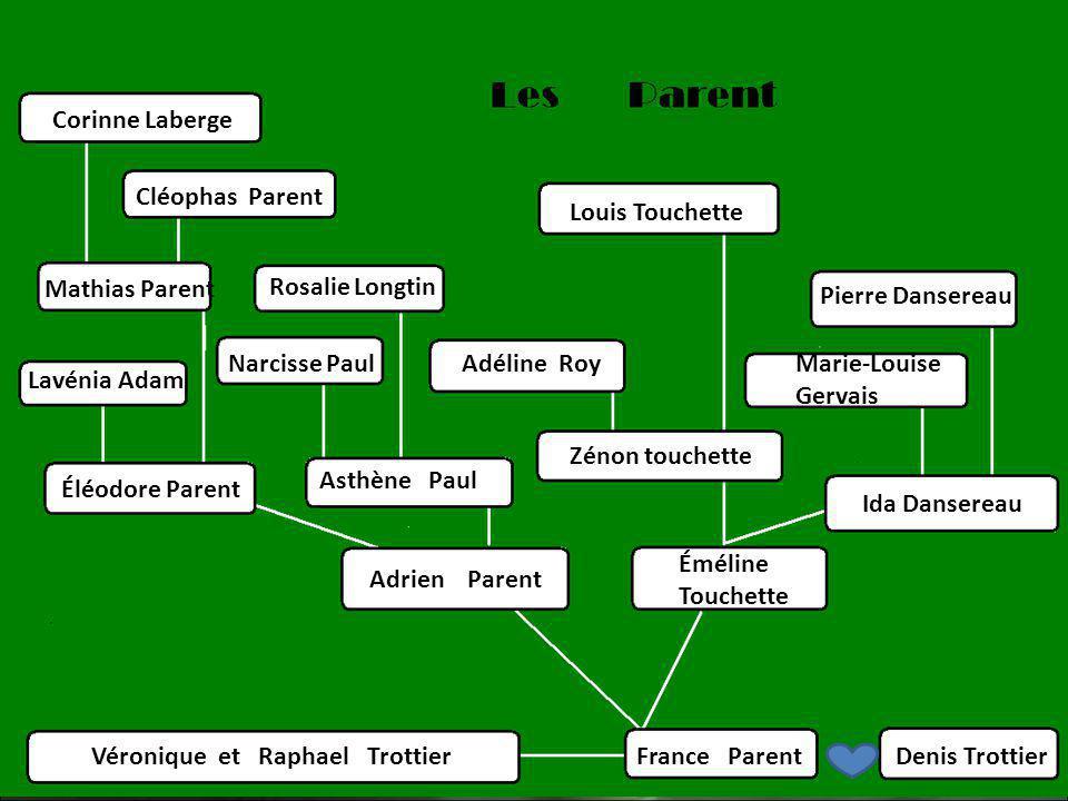 5 ième génération des Touchette Adéline Roy & Louis Touchette