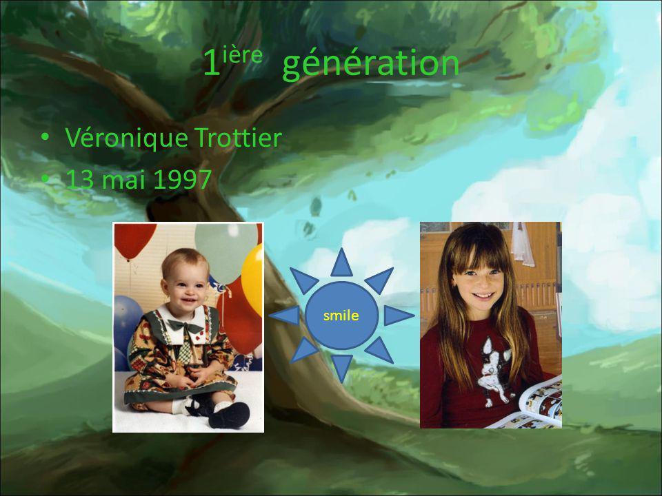 2 ième génération France Parent Denis Trottier 24 aout 1961 27 février 1961 love 28 novembre 1992