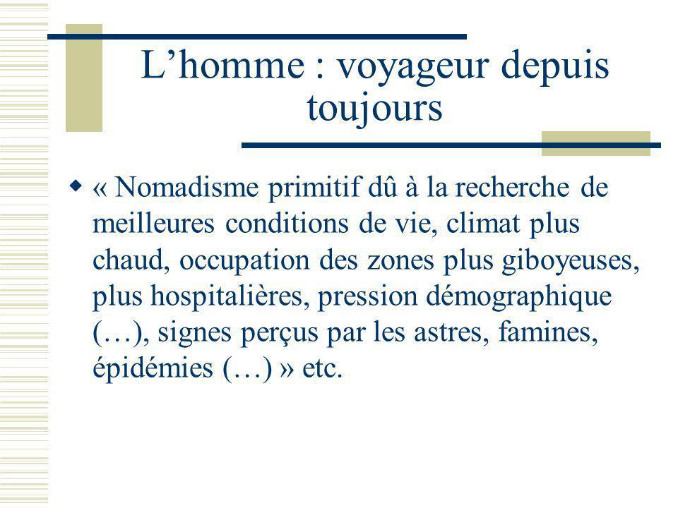 Le Québec et le Canada « Nos gouvernements ne se sont intéressés que fort tardivement à la promotion du tourisme.