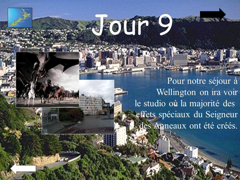 Jour 9 Pour notre séjour à Wellington on ira voir le studio où la majorité des effets spéciaux du Seigneur des Anneaux ont été créés.