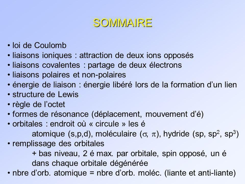 EXERCICES Chapitre 1 Vollhardt 5 ième édition (p.
