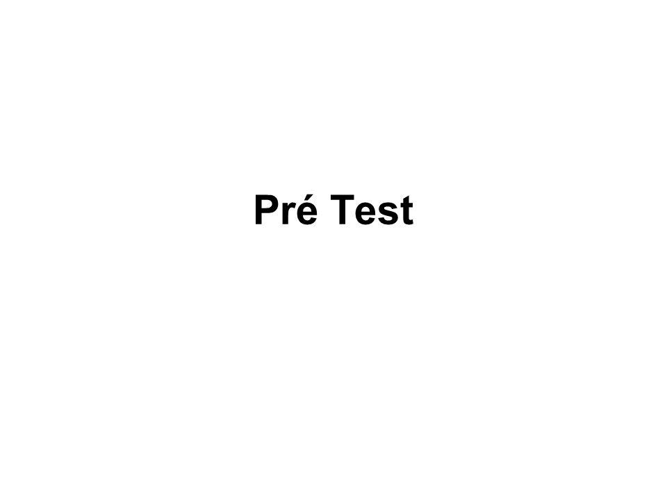 Pré Test