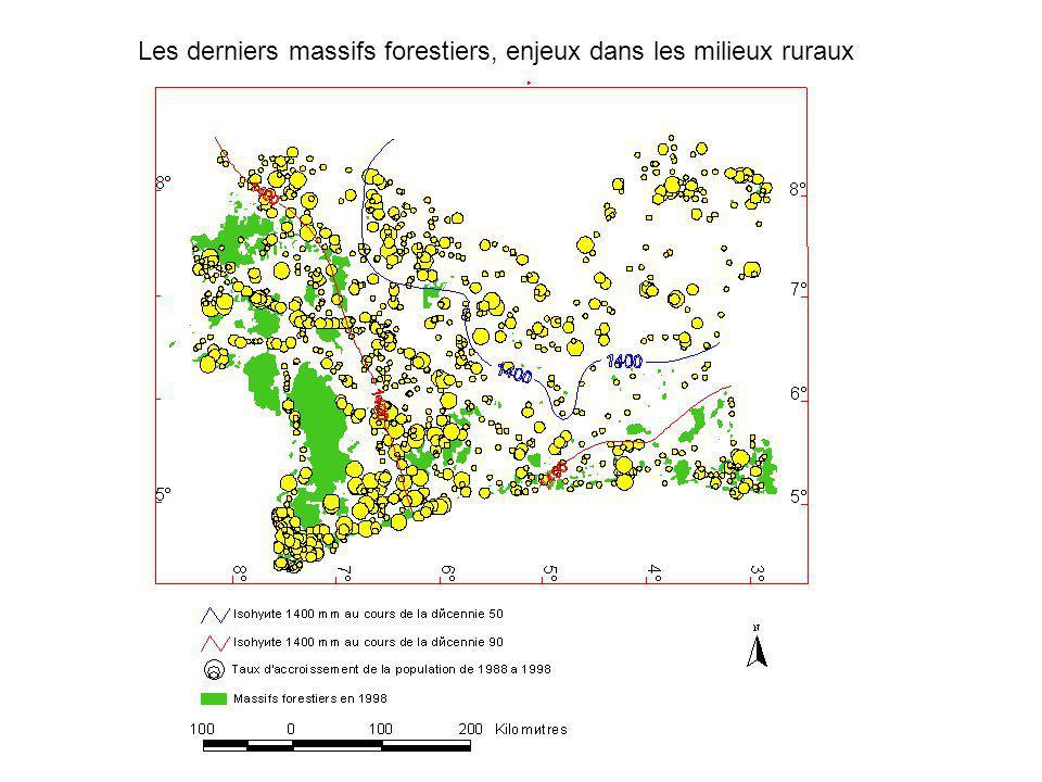 Les derniers massifs forestiers, enjeux dans les milieux ruraux