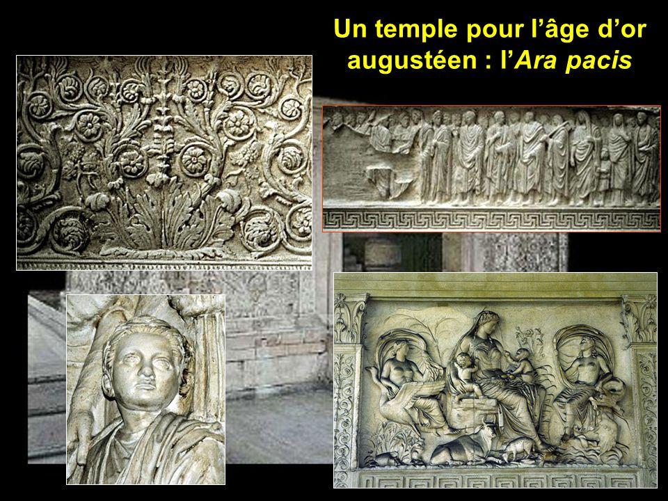 Un temple pour lâge dor augustéen : lAra pacis