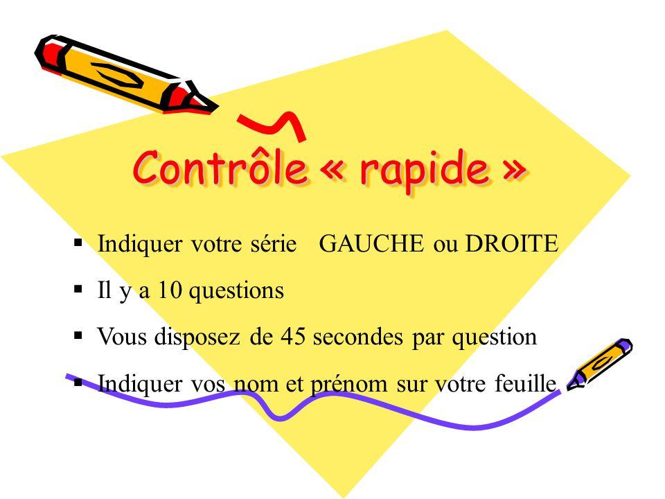 Question 1 Dans lalphabet il y a 6 voyelles et 20 consonnes.