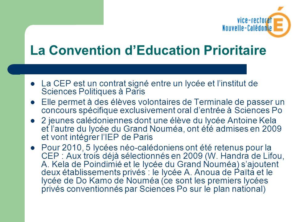 La Convention dEducation Prioritaire La CEP est un contrat signé entre un lycée et linstitut de Sciences Politiques à Paris Elle permet à des élèves v