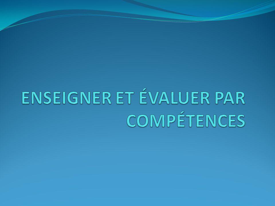 Claude Felloneau - Janvier 2010Réunion Inter ZAP Dordogne Nord et Ouest Pourquoi évaluer par compétences .