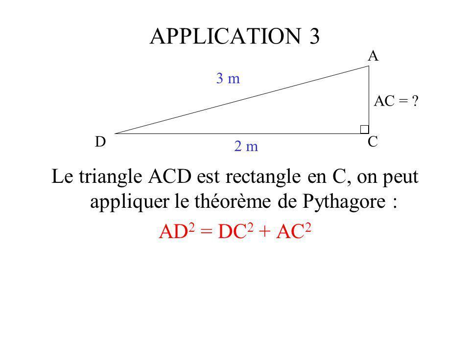 C A D 3 m 2 m AC = .