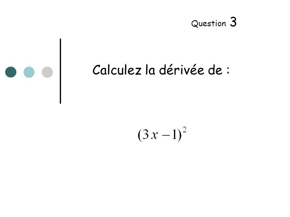 f(1) = …… f (1) = …… Question 4