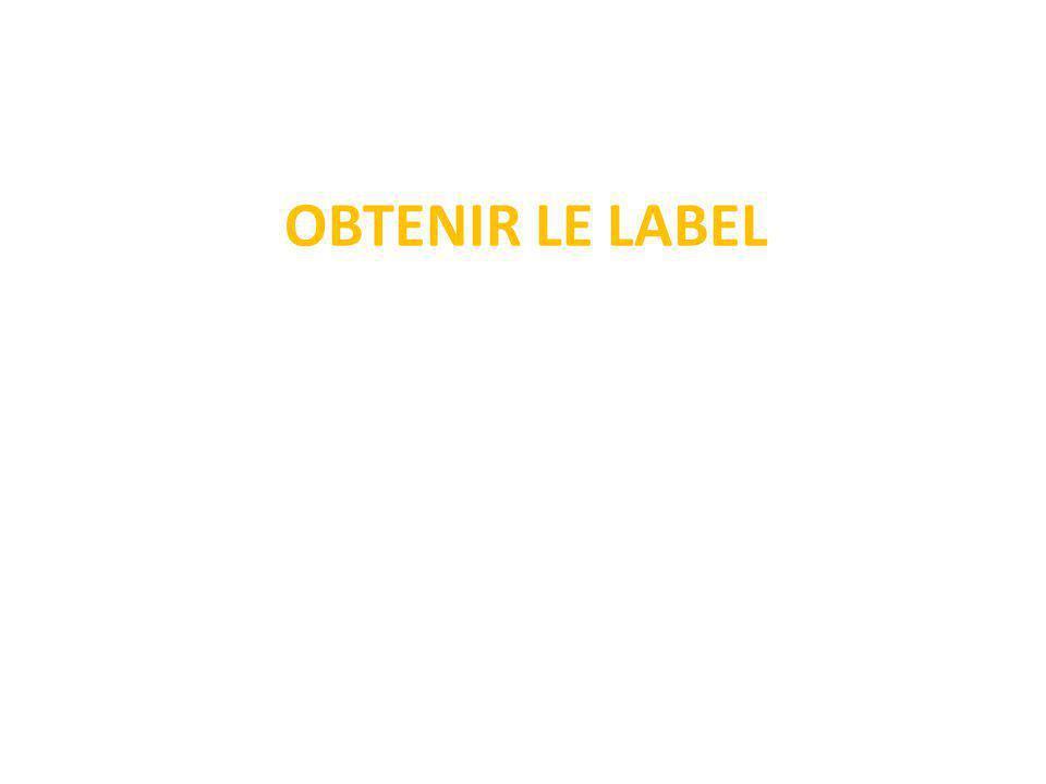 Le label, valeur ajoutée de la démarche Eco-Collège Véritable source de motivation pour les participants, le label valorise l engagement des porteurs de projets et concrétise les efforts réalisés tout au long de l année.