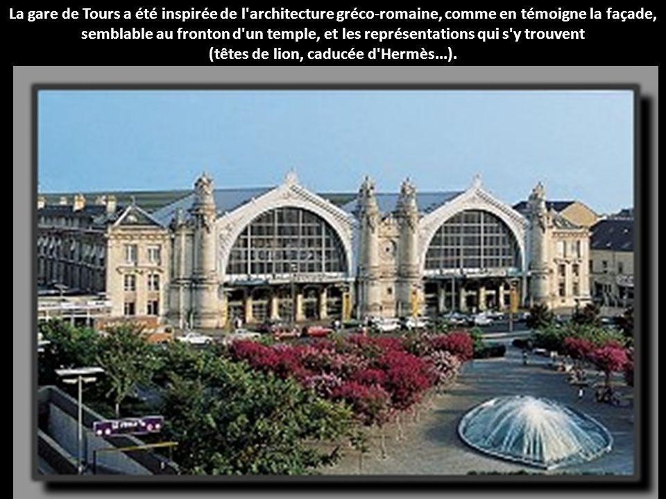Classée monument historique en 1975, la gare de Limoges a été appelée Limoges-Bénédictins car elle a été construite sur un ancien monastère bénédictin