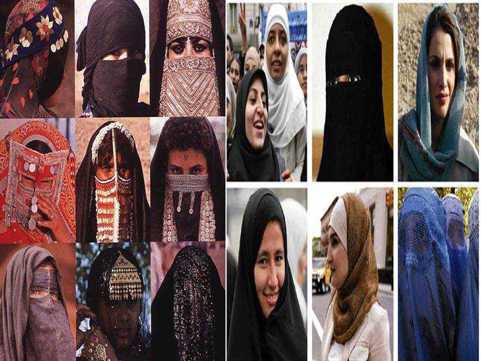 LE HIYAB : Cest un voile caractéristique des femmes arabes.