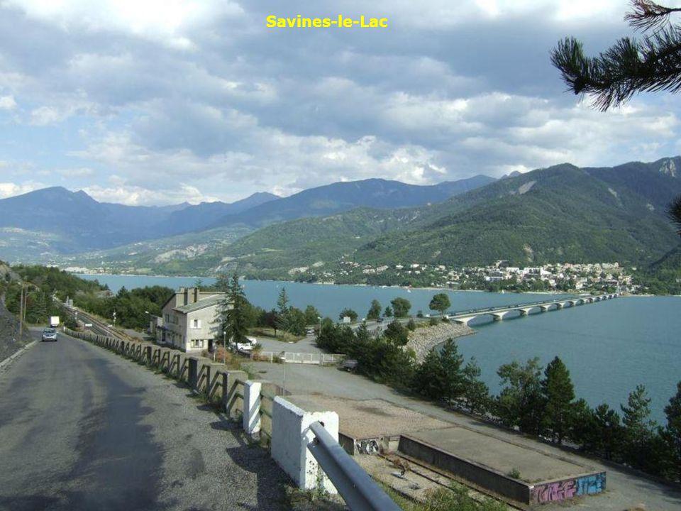 Savines-le-Lac Lac de Serre-Ponçon