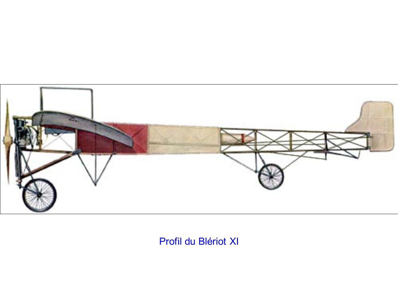 Profil du Blériot XI