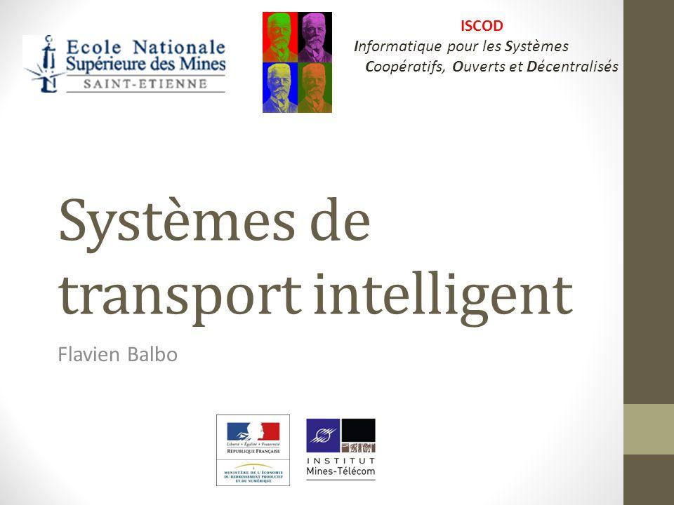 Plan 1.Introduction, 2.Interopérabilité et Systèmes de Transport Intelligents : Intermodalité, 3.Régulation Bimodale de trafic urbain, 4.Conclusion.