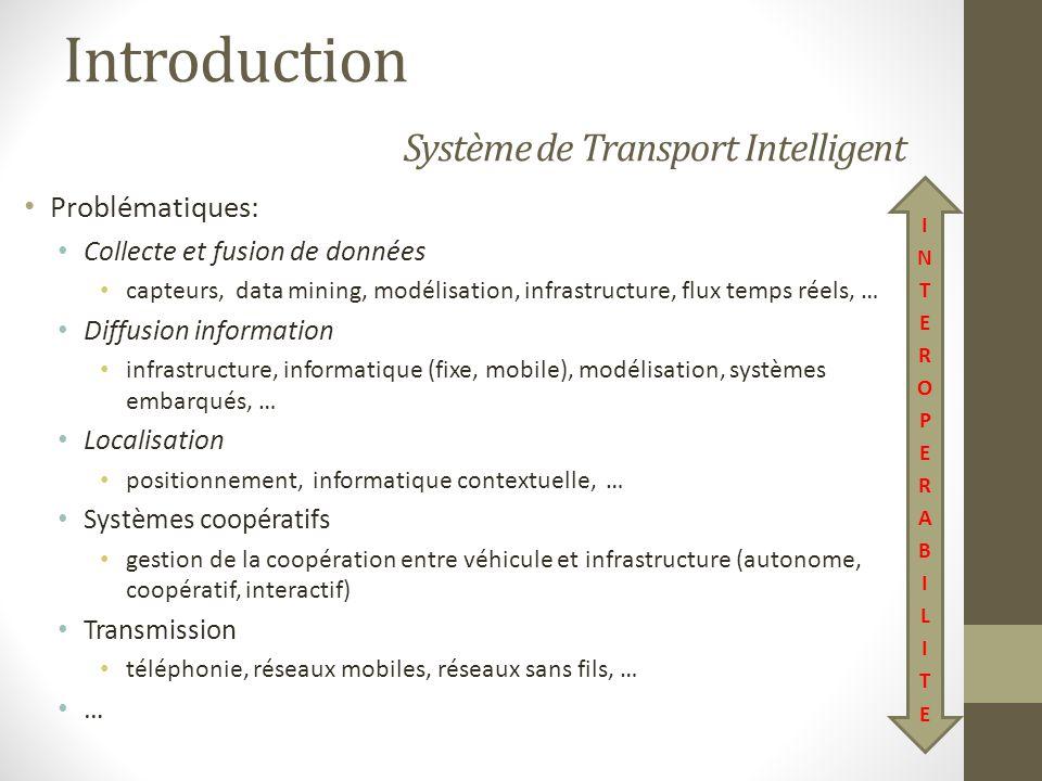 Régulation bimodale Modèle coopératif Définition : STI reposant sur la communication des véhicules entre eux et/ou avec linfrastructure.