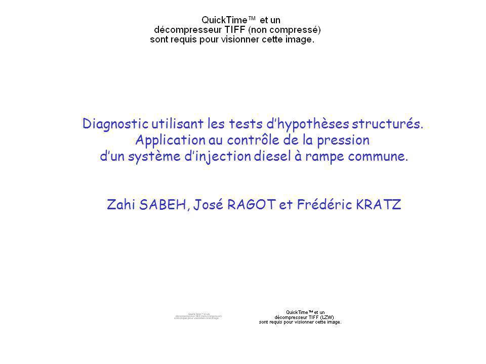 Diagnostic utilisant les tests dhypothèses structurés.