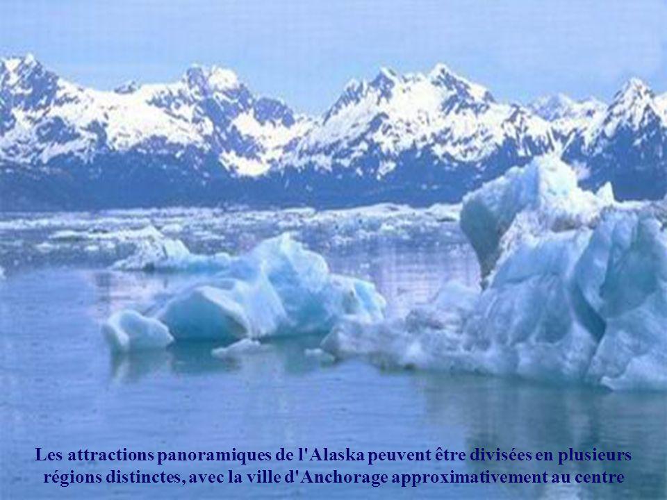 L'Alaska a des caractéristiques diverses et des climats extrêmes. La température peut atteindre plus de 38°C en été et tomber à - 48°C ou moins en hiv